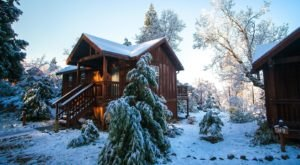 Evergreen Lodge In Northern California Transforms Into A Christmas Wonderland Each Year
