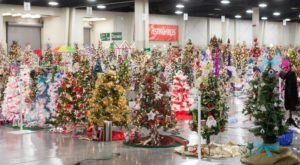 The Christmas Tree Displays At Festival Of Trees Is Like Walking In A Utah Holiday Wonderland