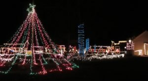 Drive Through Millions Of Lights At The State Farm Museum In West Virginia This Holiday