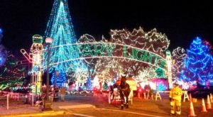 Drive Or Walk Through 4 Million Holiday Lights At Rotary Lights In Wisconsin