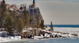 This Beautiful Minnesota Lighthouse Is Even More Gorgeous Under A Blanket Of Snow