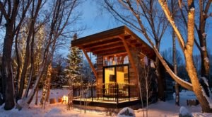 You'll Find A Luxury Glampground At Fireside Resort In Wyoming, It's Ideal For Winter Snuggles And Relaxation