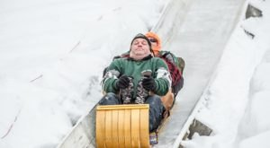 Ride The Longest Toboggan Chute In Maine At Camden Snow Bowl For A Day Of Pure Fun