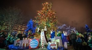 Celebrate The Start Of The Holiday Season With Santa In Alaska At The Anchorage Treelighting Ceremony