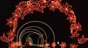 Virginia's Oldest Drive-Through Lights Show, Celebration In Lights, Is A Magical Wintertime Event