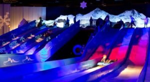 The Longest Snow Tubing Run In Florida Can Be Found At Gaylord Palms Resort