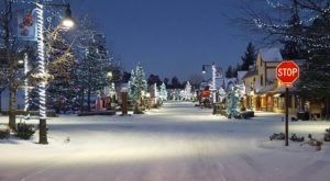 At Christmastime, Big Bear In Southern California Has The Most Enchanting Main Street In The Country