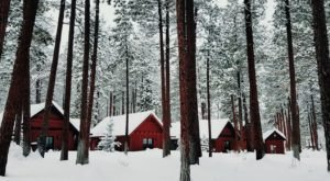 You'll Find A Luxury Glampground At FivePine Lodge In Oregon, And It's Ideal For Winter Snuggles And Relaxation