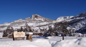Wyoming's Bighorn National Forest Is Breathtaking Under A Blanket Of Fresh Snow