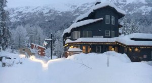 Stay Close To All The Winter Action At The Ski Inn In Girdwood, Alaska