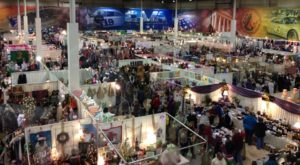Wander Through An Entire Complex Full Of Holiday Treasures At The Christmas Bazaar In Virginia