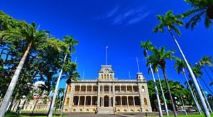 Explore Hawaii's Famous Iolani Palace By Night In Honor Of Queen Kapiolani's Birthday