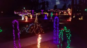 The Garden Christmas Light Displays At The American Rose Center In Louisiana Is Pure Holiday Magic