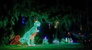 Even The Grinch Would Marvel At The Christmas Light Display At City Park In New Orleans