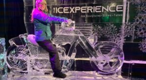 Walk Through A Frozen, Crystal-Clear Wonderland Made With 50 Tons Of Ice At The Ice Xperience In Wisconsin