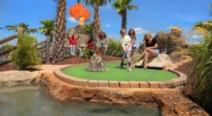 Bring Your Family To One Of North America's Best Mini Golf Courses, Lava Links Golf Club In Mississippi