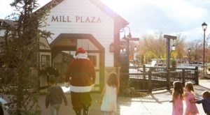 Your Whole Family Can Enjoy Eating Pancakes With Santa At Gardner Village In Utah