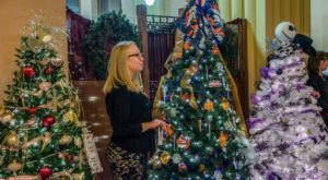 The Magic City Festival of Trees In Wyoming Is Positively Enchanting