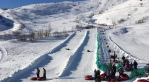 The Longest Snow Tubing Run In Alaska Can Be Found At Arctic Valley Ski Area
