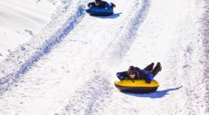 The Longest Snow Tubing Run In New Mexico Can Be Found At Angel Fire Resort