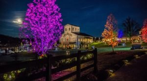 Enjoy An Illuminated Holiday Festival And Dinner At Jim Beam's Distillery In Kentucky This Year