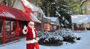 Head To The North Pole At Santa's Land In Vermont And Have A Blast