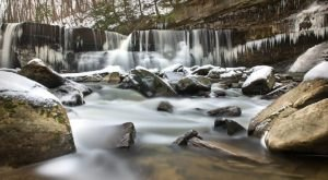 8 Gorgeous Frozen Waterfalls Around Cleveland That Must Be Seen To Be Believed