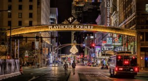 The Nation's Second Largest Theater District Is Playhouse Square, Which Has Dazzled Since The 20s
