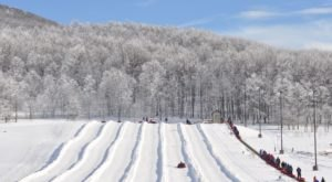 The Longest Snow Tubing Run In West Virginia Can Be Found At Canaan Valley Resort State Park