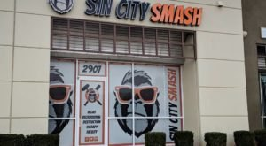 The Most Unique Attraction In Nevada, Sin City Smash, Lets You Destroy Things To Smithereens