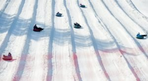 One Of The Longest Snow Tubing Runs In Vermont Can Be Found At Mount Snow