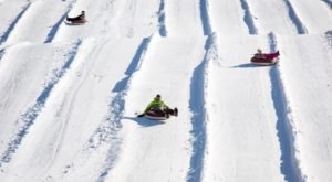 The Longest Snow Tubing Run In New Jersey Can Be Found At Mountain Creek