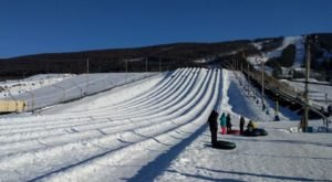 The Longest Snow Tubing Run In Pennsylvania Can Be Found At Blue Mountain Resort