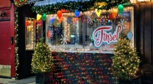 Even Scrooge Would Love The Christmas-Themed Pop-Up Bar, Tinsel, In Pennsylvania