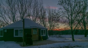 Cozy Up In One Of The Yurts And Cabins In Fort Ransom State Park In North Dakota