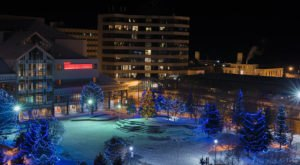 One Of The Best Places To Celebrate Christmas Is Anchorage, Alaska's City of Lights