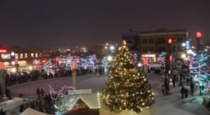 The Main Street Square Ice Rink In South Dakota Is Positively Enchanting