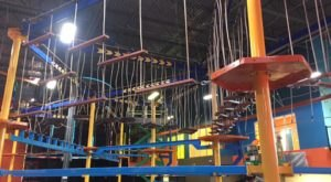 The Whole Family Can Go Nuts At The Gigantic Indoor, Multi-Story Adventure Park At Urban Air Adventure Park