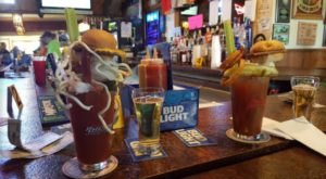 You Can Order An Overwhelming, One-Of-A-Kind Bloody Mary At Wisconsin's Two Of A Kind Restaurant