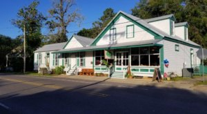 Old Courtableau Cafe In Louisiana Is A Delightful Small Town Restaurant