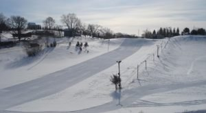 For A Winter Thrill, Try Turbo-Tubing At Badlands Sno-Tubing Park In Wisconsin