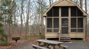 You'll Find A Luxury Glampground At Killens Pond State Park In Delaware, It's Ideal For Winter Snuggles And Relaxation