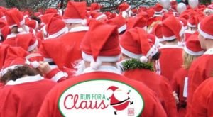 Hundreds Of Santas Descend Upon New London Every Year During The Run For A Claus In Connecticut