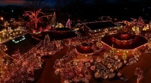 One Of The Best Places To Celebrate Christmas In The South Is Grand Rivers, Kentucky's City of Lights