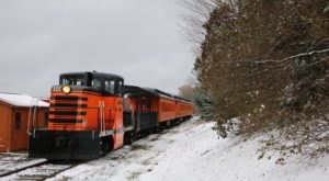 Watch The Countryside Near Buffalo Whirl By On This Unforgettable Christmas Train