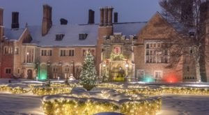 The Holiday Walk At Meadow Brook Hall In Michigan Will Take You Through A Timeless Christmas Wonderland
