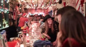 Even Scrooge Would Love The Christmas-Themed Pop-Up Bar, Miracle, In Mississippi
