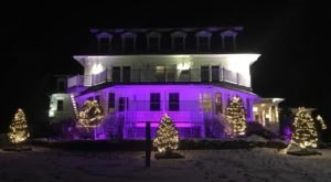 The Camden Harbour Inn Just Might Be The Most Beautiful Christmas Hotel In Maine