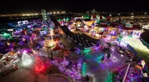 Adventure Through An Enchanted Wonderland Of Lights And Activities At Christmas Town In Nevada