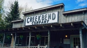 Folks Are Willing To Go Well Out Of Their Way For The Food At Creekbend Cafe In Alaska